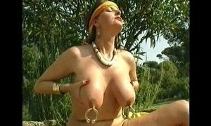 huge boobs puffy nipples pussy