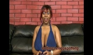 big tits  black mature  huge boobs  throating