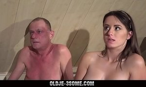 3some  cock  fuck  grandpa  virgin