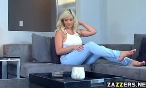babysitter natural big tits shaved pussy sweet wifes