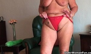 ass  big tits  bouncing juggs  chubby  granny  old granny