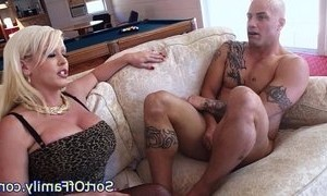 cock sucking cougar mama step dad stepmother