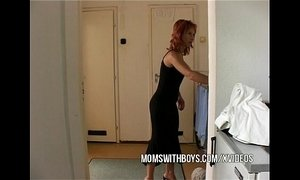 seduced  step son  stepmother  teen and older