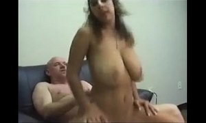 bouncing juggs  busty  indian moms  tits
