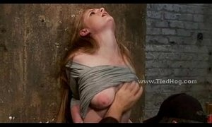 blonde mature  bondage  weird